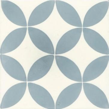 Tegels kashba blue circle 20x20
