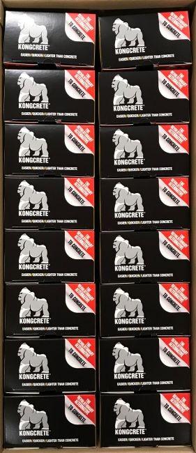 Grootverpakking inhoud 16x kongcrete kit small voor 1 paal