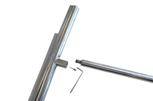 Luxe design douche vloerwisser big-one inclusief safety-grip