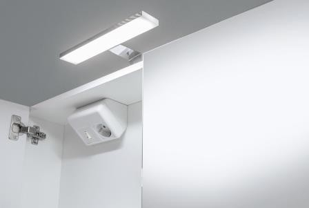 spiegelkast verlichting 100x60cm zoom