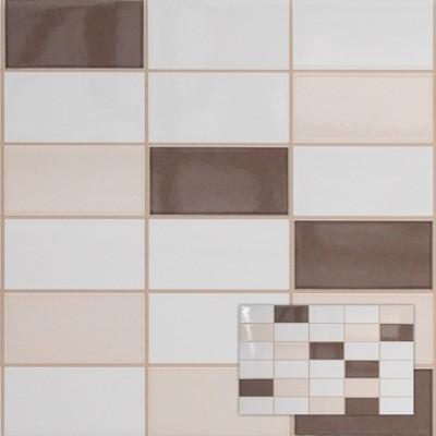 Tegel softline pergamon wenge mozaiek cm