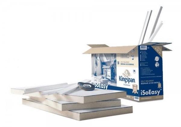 Iso-easy isolatieplaten pakket 4,32m2