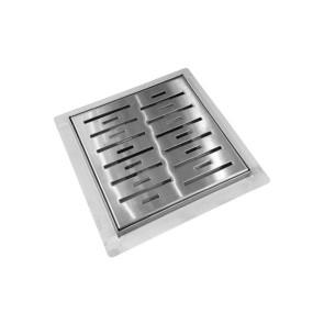 "Best-design ""n-square"" doucheput met flens 15x15x7.7cm"