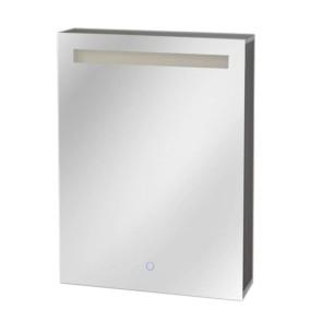 "Best-design ""aluma"" luxe spiegelkast incl. led verlichting 60x80cm"
