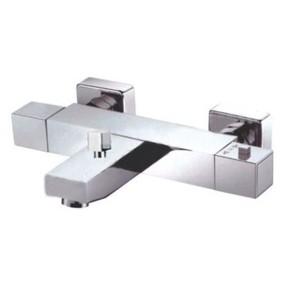 "Best-design ""square"" vierkante badthermostaat (opbouw)"