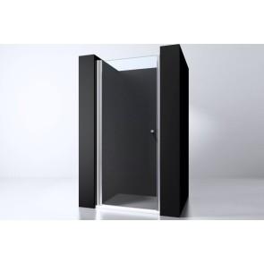 "Best-design ""erico"" nisdeur met profiel 68-70cm h=200cm nano glas 6mm"