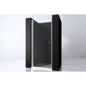 "Best-design ""erico"" nisdeur met profiel 79-81cm h=200cm nano glas 6mm"