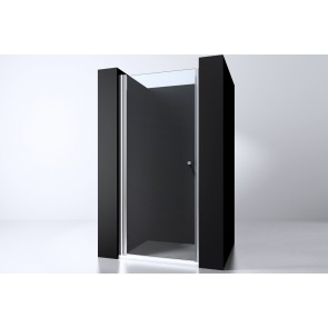 "Best-design ""erico"" nisdeur met profiel 97-100cm h=200cm nano glas 6mm"