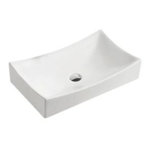 "Best-design ""dicta"" opbouw wastafel 65x39,5x13,5 cm"