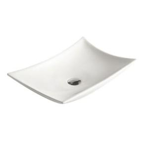 "Best-design ""raaf"" opbouw wastafel 56x37x10,5cm"