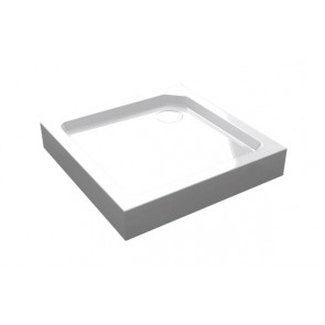 Best-design smc-001 opbouwdouchebak vierkant 90x90x14 cm