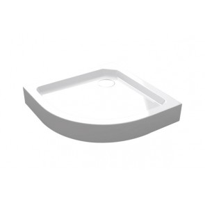 Best-design smc-005 opbouwdouchebak 1/4-rond 90x90x14 cm r=550