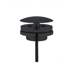 "Best-design ""low"" fontein afvoer plug ""nero"" 5/4"" mat-zwart"