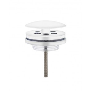 "Best-design ""low"" fontein afvoer plug ""white"" 5/4"" mat-wit"