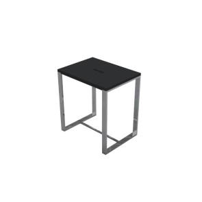 """Best-design """"faece-black"""" stoel """"just-solid-steel"""" mat-zwart"""