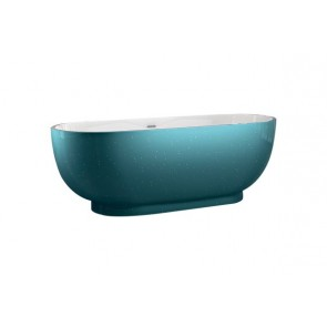 "Best-design ""color-turquoise ""vrijstaand bad 179x81x61cm"