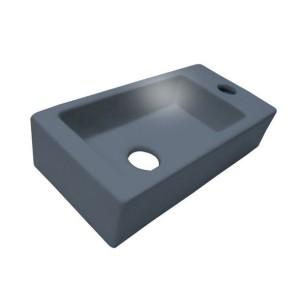 """Best-design fontein """"mini-block-antraciet-grijs"""" rechts 36x18x9cm"""
