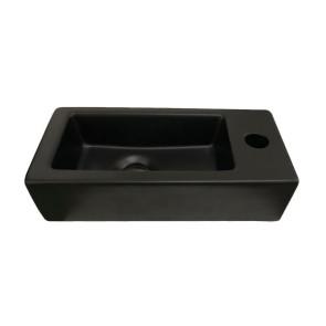 """Best-design """"farnetta"""" fontein rechts 37x18x9cm mat-zwart"""