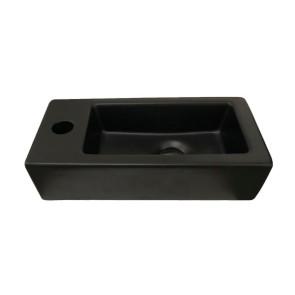 """Best-design """"farnetta"""" fontein links 37x18x9cm mat-zwart"""