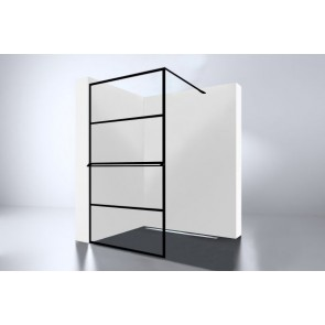 "Best-design ""noire 900 screen"" inloopdouche walk-in 900x2000x10mm"