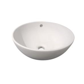 "Best-design ""ancona"" opbouw-waskom mat-wit diameter =38cm h=16cm"