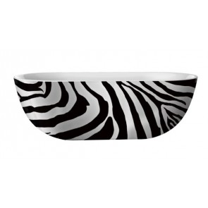 "Best-design ""color-zebra"" vrijstaand bad 180x86x60cm"
