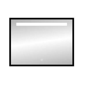 "Best-design nero ""black-miracle"" led spiegel b=80 x h=60cm"