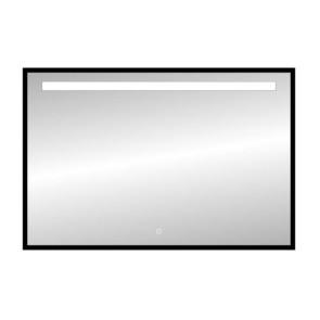 "Best-design nero ""black-miracle"" led spiegel b=120 x h=80cm"