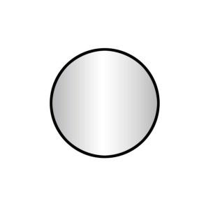 """Best-design """"goslar-nero"""" ronde spiegel diameter  60 cm"""