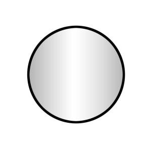 """Best-design """"goslar-nero"""" ronde spiegel diameter  100 cm"""