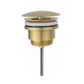 "Best-design ""nancy"" low fontein afvoer plug 5/4"" mat-goud"