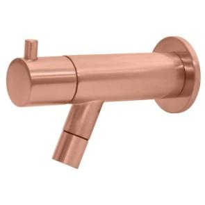 """Best-design """"spador-lyon"""" wand toiletkraan rosé-mat-goud"""