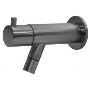 "Best-design ""spador-moya"" wand toiletkraan gunmetal"