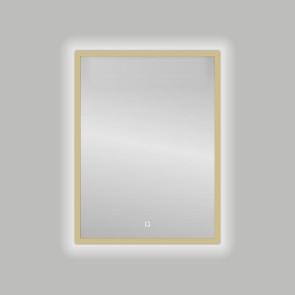 "Best-design nancy ""isola"" mat-goud led spiegel b=60 x h=80cm"