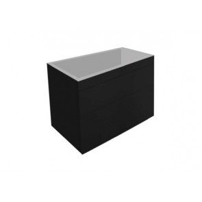 "Best-design ""beauty-60-mat-zwart greeploos"" meubel onderkast"