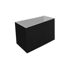 "Best-design ""beauty-78-mat-zwart greeploos"" meubel onderkast"