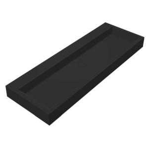 """Best-design """"nero-opera-120"""" wastafel """"just-solid"""" 120x50x11cm mat-zwart"""