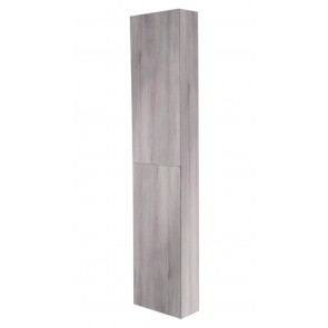 "Best-design ""blica-grey"" hoge kolomkast l&r 35x180 cm grijs-eiken"