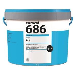 Eurocol pastalijm lijmen x 18 kg supercol 686 eur