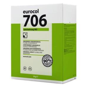 Eurocol voegproducten voegmaterialen x 5 kg voegzilv.grijs 706 eur