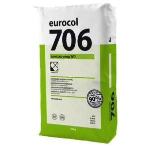 Eurocol voegproducten voegmaterialen x 23 kg voegwit 706 eur