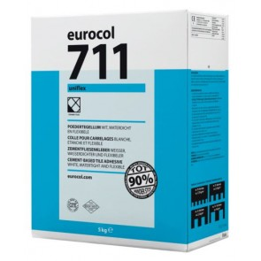 Eurocol poederlijmen lijmen x 5 kg uniflex wit 711 eur