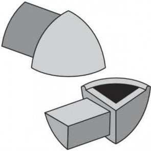 Tegelstrip eac080.94 3w-hoekje per set van 4 stuks