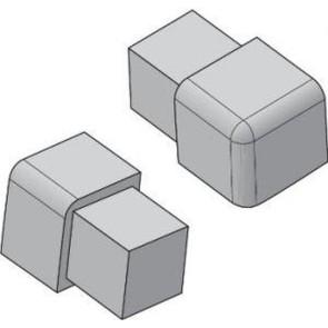 Tegelstrip edp080.91 3w-hoekje per set van 4 stuks