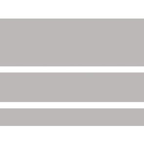 Tegels concept grijs glans mix maten 7,5/12,5/20x60