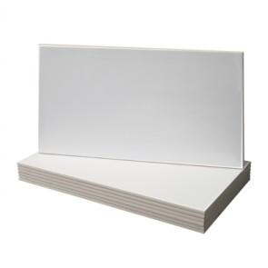 Tegel glans wit 30,0x60,0 cm