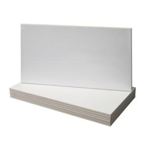 Tegels mat wit gerectificeerd 29,8x59,8cm