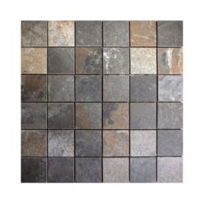 Mozaiek marbella zwart 5x5 cm