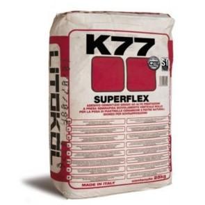Tegellijm k77 superflex poederlijm 20 kg