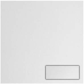 Tegels mat wit 20,0x50,0 cm